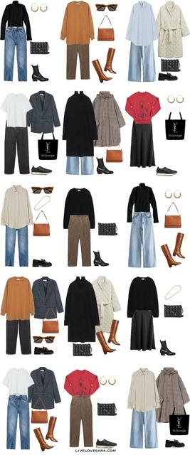 tfit Ideas | Budget Capsule Wardrobe |  Autumn Capsule Wardrobe | Autumn Outfit Ideas | livelovesara  #ShopStyle #MyShopStyle