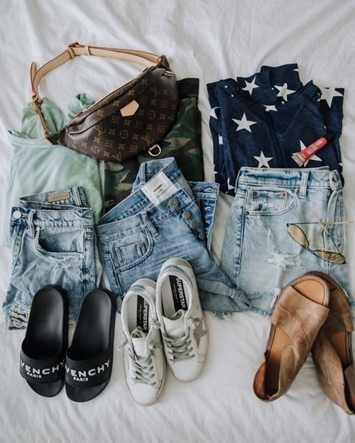 Spring into summer outfit formula ☀️ #ShopStyle #MyShopStyle #ContributingEditor #Flatlay