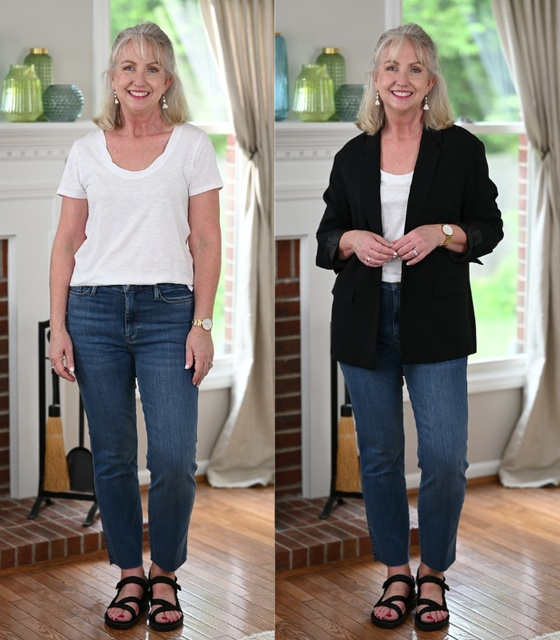 the blazer and sandals below, too. #dressedformyday #ShopStyle #MyShopStyle #LooksChallenge #ContributingEditor #TrendToWatch