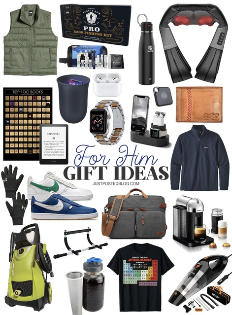 Gift Ideas for him for Christmas!