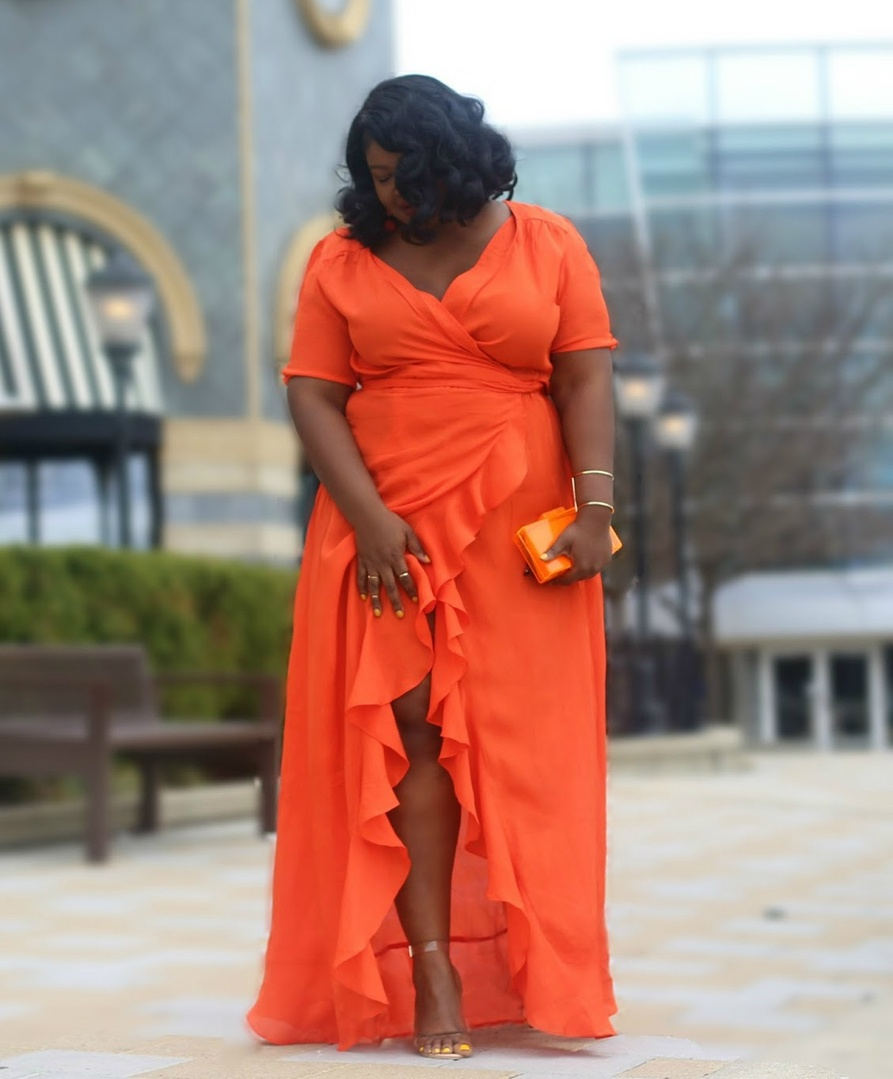 I got so much feedback about this dress that I decided to search for something similar I've linked a few options below. FYI Im wear a 16 regular here in tall I am not really a size 16 so sometimes you have to think past the number on the tag xo   #MyShopStyle #ContributingEditor #TrendToWatch #PlusSize #springsyle #springfinds