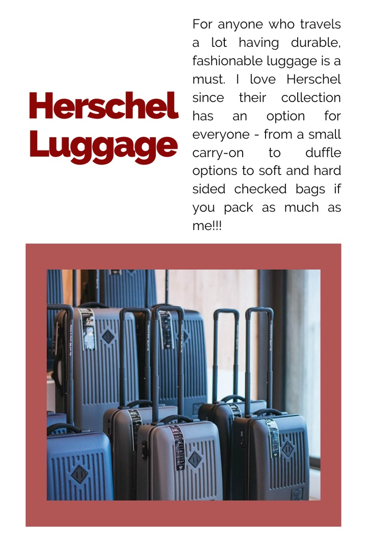 Look by Kristi Hemric featuring Small Trade 23-Inch Rolling Suitcase