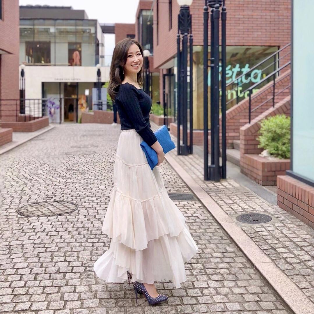 #ファッション #プチプラ #ロングスカート #お洒落 #お洒落さんと繋がりたい #アラフォーコーデ #アラフォーファッション #大人コーデ #大人カジュアル #アラフォー #fashion #outfit #code #coordinate #style #ootd #skirt  #instagood #lifestyle #instafashion #instalike #sscollectivejp #sslooksjp #shopstylejp #cute