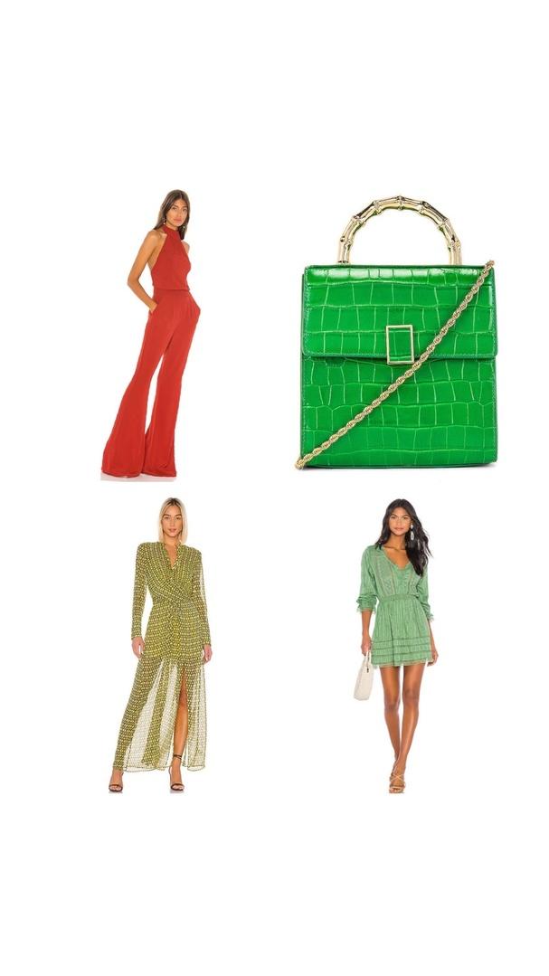 Look by Kristi Hemric featuring L'Academie The Lyra Midi Skirt