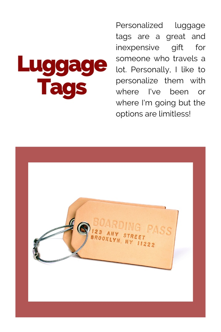 Look by Kristi Hemric featuring Kate Aspen Set Of 12 Let The Journey Begin Vintage Suitcase Luggage Tags