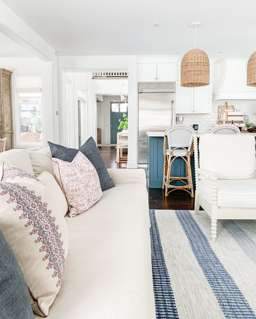 Look by Sarah Stewart featuring York Slope Arm Deep Seat Slipcovered Sofa