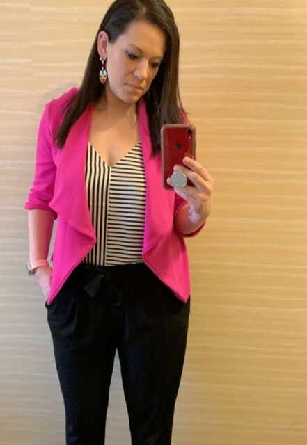 love this look for the office 🖤💞