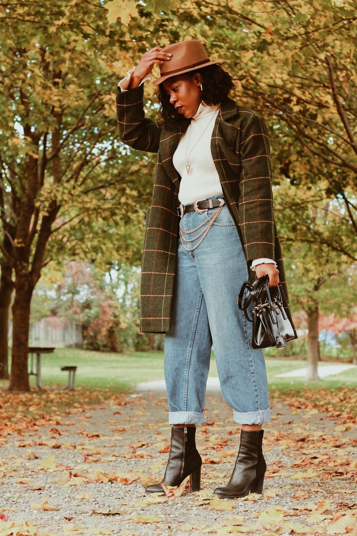 The perfect layered look for fall weather. Ideal for outtings with close friends, work or just running through the city!    #shopthelook #ShopStyle #MyShopStyle #OOTD #fallfashion #layeredlook #autumn #highfashion