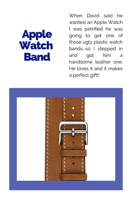 ary #GiftGuides #GiftsforGuys #Presents #ForDad #ForHusband #Holiday #Mens #AppleWatch #LeatherBands #Wristwatch #Fashionable