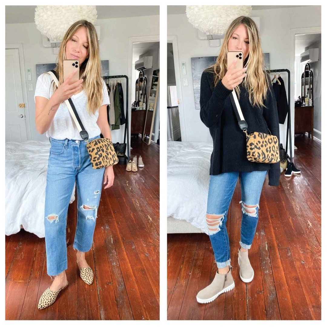 Fashion Look Featuring Madewell Mules