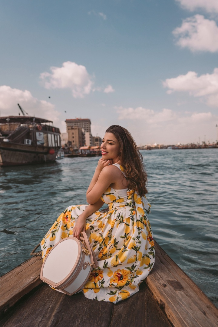 Abra boat ride in Dubai! Nothing more magical #steamlinesuitcases #ShopStyle #MyShopStyle #LooksChallenge #ContributingEditor #TrendToWatch #Travel #Vacation #Holiday
