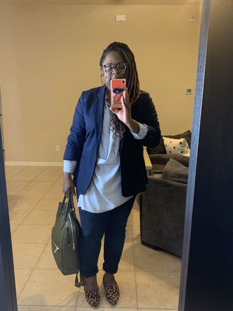 Off to work! I added other options since I couldn't find the link to the blouse I am wearing.