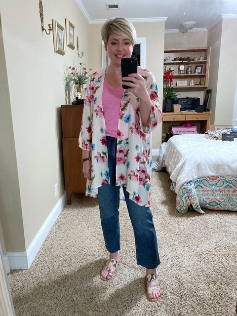 The must have summer layering piece #ShopStyle #MyShopStyle #summerstyle #fashionover40