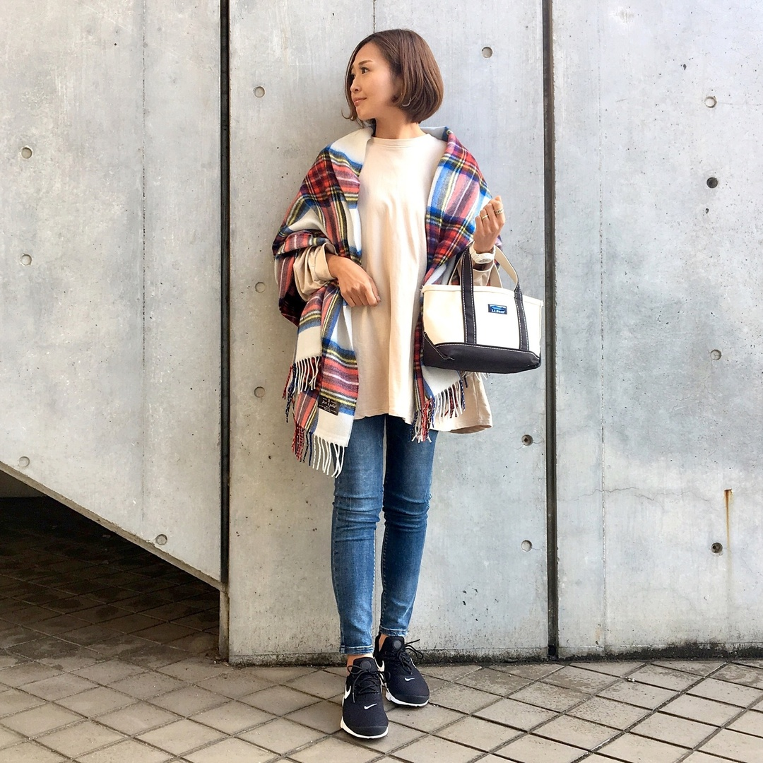#ShopStyle #shopthelook  #ssjpストール #ストール #チェックストール