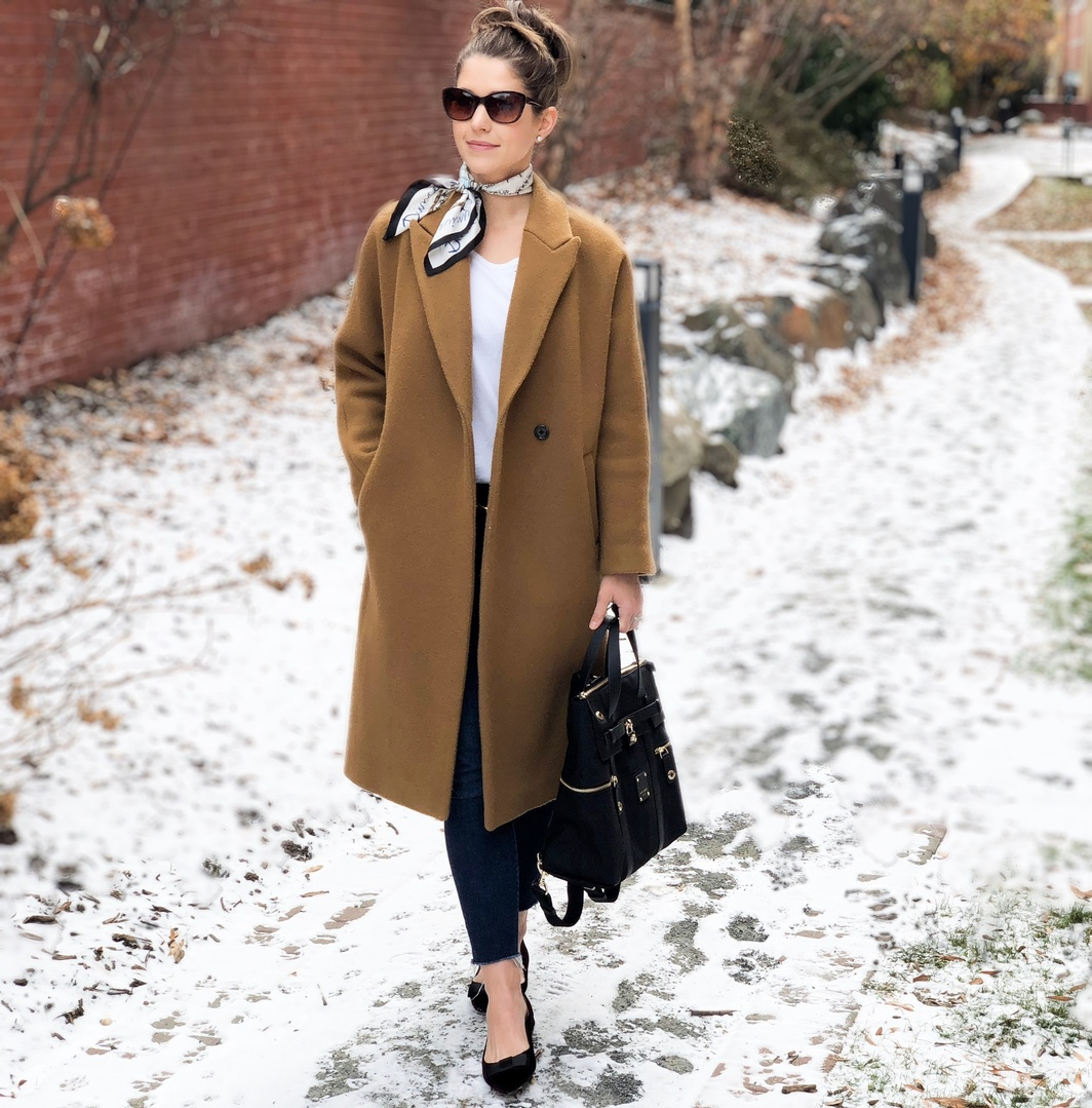 The perfect oversized coat to layer over all your cozy sweaters! #cocooncoat #oversizecoat #overcoat #madewell #camelcoat #ShopStyle #ssCollective #MyShopStyle #ootd #mylook #winterstyle #lookoftheday #currentlywearing #wearitloveit #getthelook #todaysdetails #shopthelook