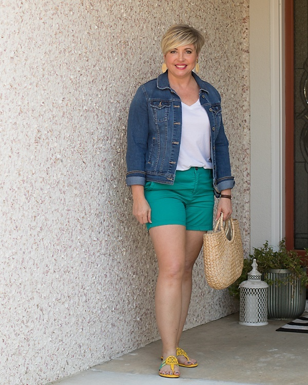 """Look by Savvy Southern Chic featuring 3.5"""" Classic Chino Short"""