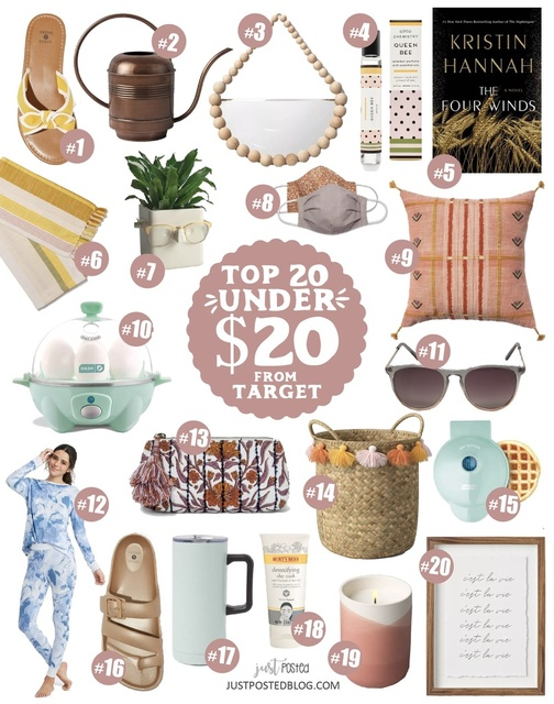 Top 20 Finds Under $20 from Target! Some of these would make great gifts!