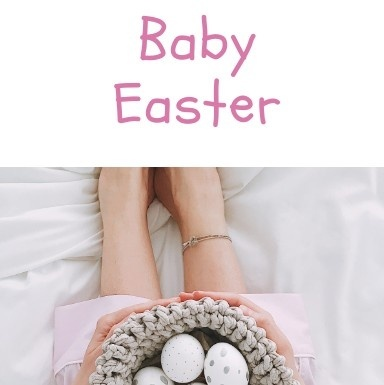 Baby easter
