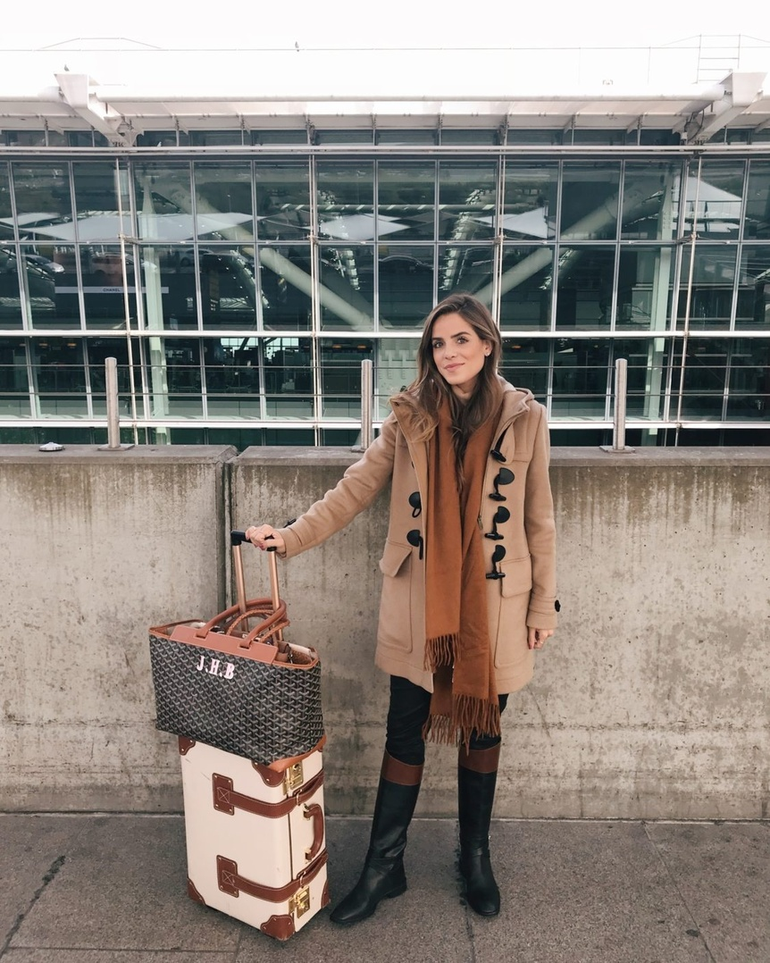 Daily Look 10.6.17 | GMG Travels #boots #scarf #GMG #ootd #DailyLook #GalMeetsGlam #travelstyle #fallstyle #MyShopStyle
