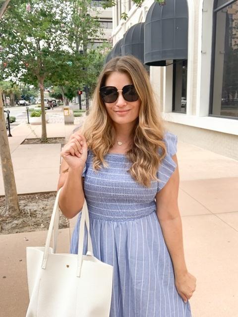 guest dress // brunch outfit // amazon find // amazon fashion // #founditonamazon   #ShopStyle #MyShopStyle #Vacation #Petite