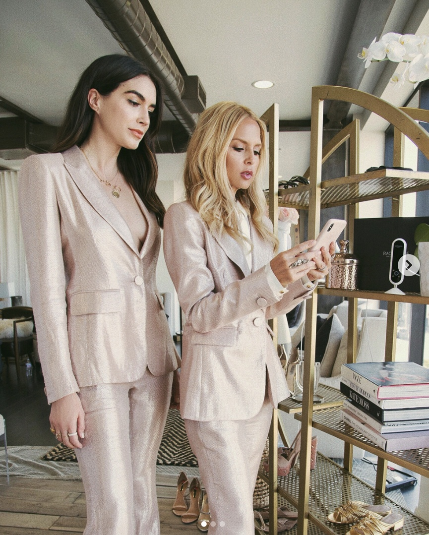 #WeekendLook #WearToWork #SummerStyle #ShopStyle #shopthelook #MyShopStyle #OOTD #SpringStyle #rachelzoe #blush #pink #suit