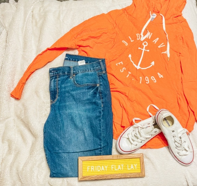 It's another Friday Flat Lay #ShopStyle #MyShopStyle #OldNavyStyle