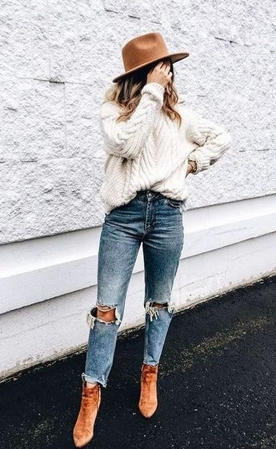 woman's outfit idea! I love this whole outfit, too cute! #ad #ShopStyle #MyShopStyle #shopthelook #WomansFashion #FallFashion