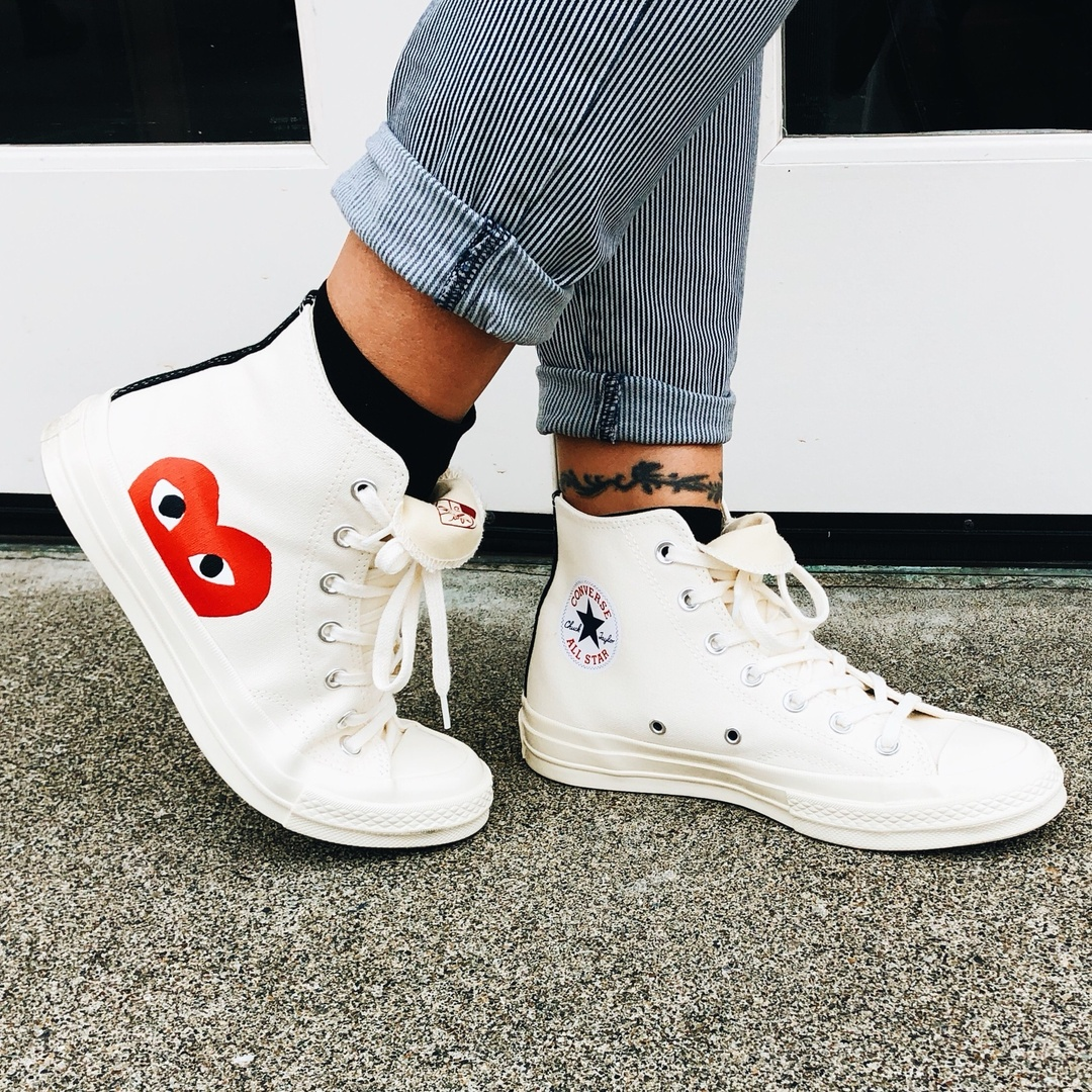 Featuring Comme des Garcons Sneakers