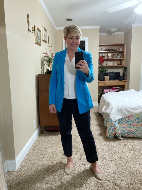Work Wear with Color #ShopStyle #MyShopStyle #mystyle #workstyle