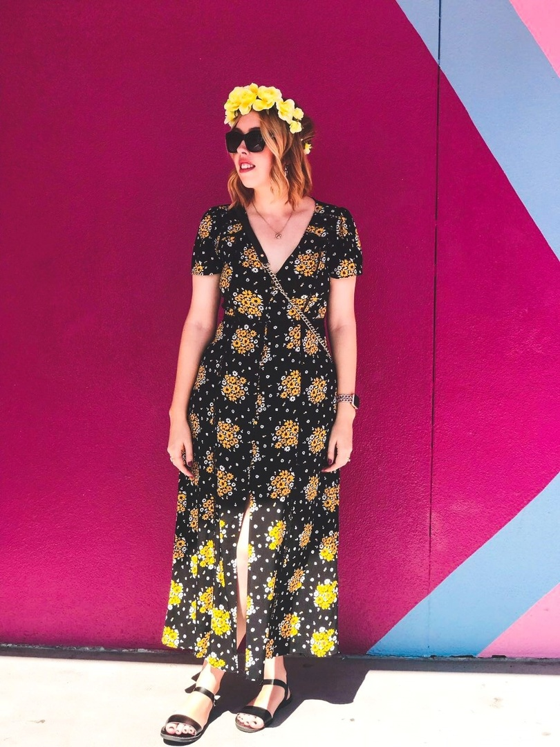 Look by elleandmimi featuring Forever 21 Floral Braided Headband