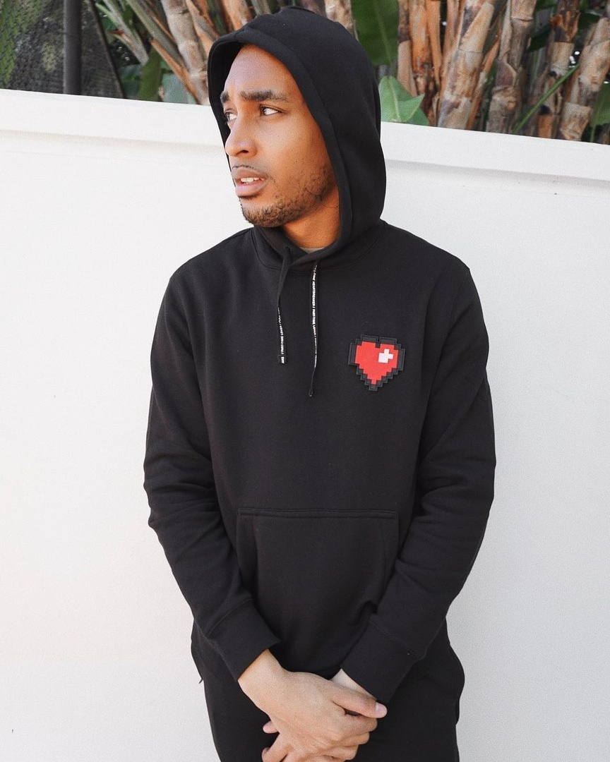 HEART HOODIE #OOTD #HOODIE #MENSFASHION #ShopStyle #MyShopStyle #LooksChallenge #ContributingEditor #Mens