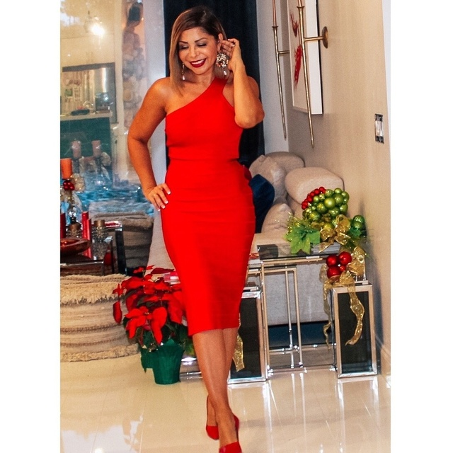 """""""Some girls are born to be nice. Others are born to wear a red dress!"""""""