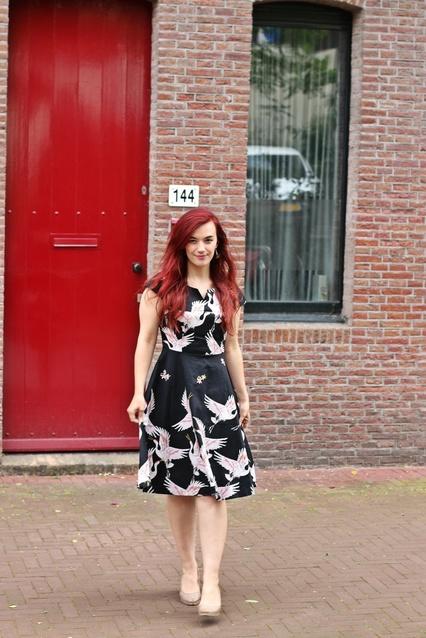 Exotic Print Summer Dress