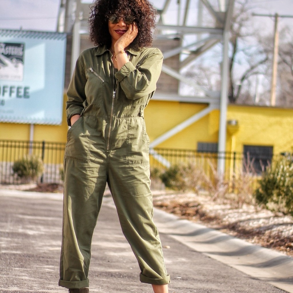 Monochromatic vibes in this Topshop Utility Boilersuit. Ready for #SpringStyle #ShopStyle #MyShopStyle #ContributingEditor #TrendToWatch #topshop #nordstrom #prada