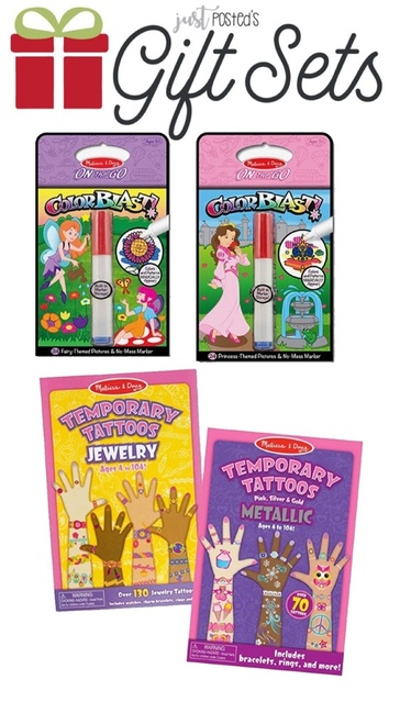 Melissa & Doug On the Go ColorBlast No-Mess Coloring 2-Pack, Princess,  Fairy (24 Color-Reveal Pictures, Invisible Ink Marker, Great Gift for Girls  and ...