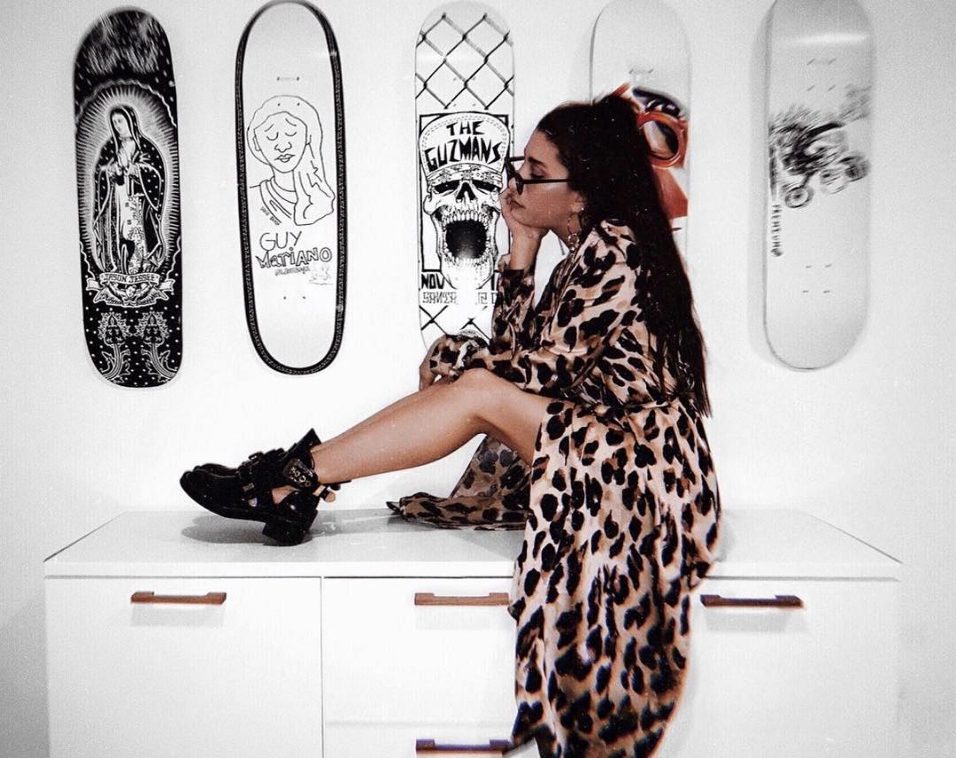 new insta background in my own house? yes pls. #fashionlush #shopthelook #loungewear #leopard #animalprint #cozy #balenciaga #highlowfashion