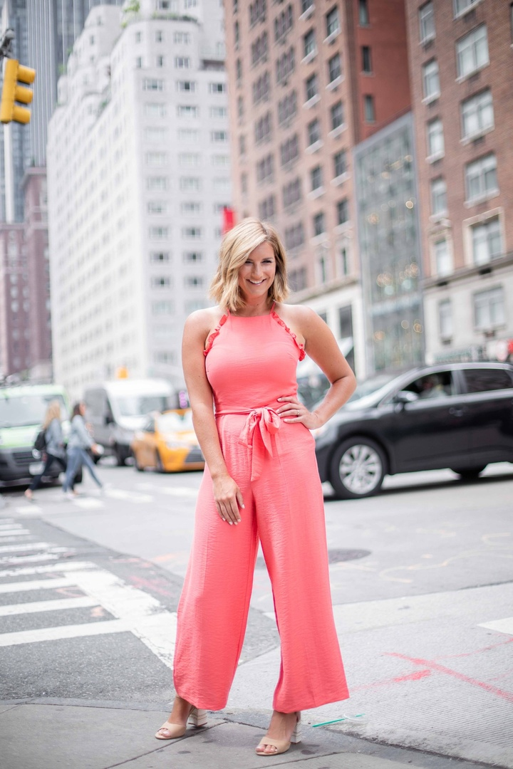 My top picks from @lordandtaylors Friends + Family event are perfect for summer! Pink jumpsuits and pink tops are making my heart go pitter-patter! #ad @ShopStyle
