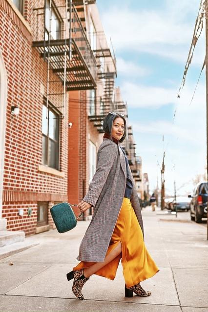 Winter slip dress outfit #kritys #winteroutfit #slipdress #slipdressoutfit