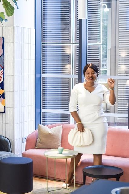 Rocking A Classic White #white #dress #classy #LooksChallenge #MyShopStyle #ShopStyle