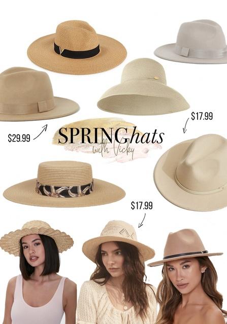 spring hats #springhats