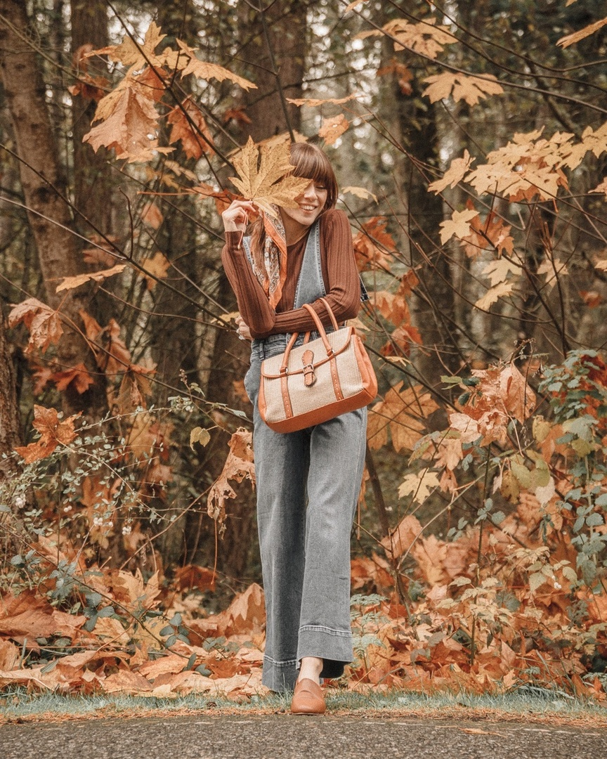 Look by Leah Miles featuring Free People Baggy Boyfriend Overall