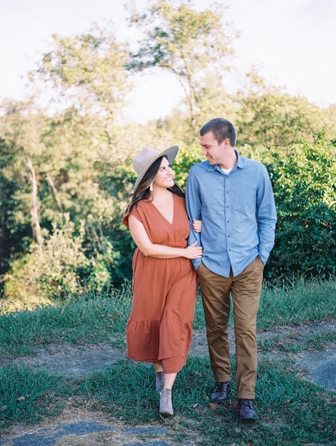 Loved this fall session with @hannahhicksphoto! This exact dress is from @target but is sold out.