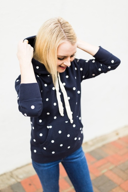 am bio NOW to shop my polka dot hoodie and the rest of the site before all the good stuff is gone! || #ShopStyle #MyShopStyle