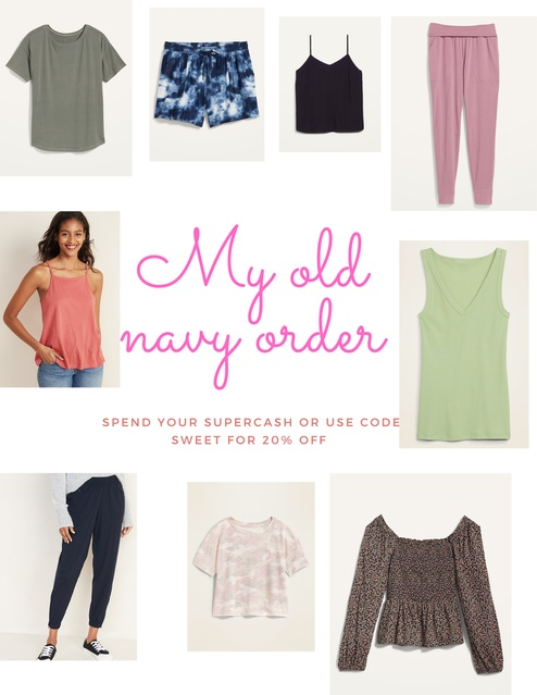 My Old Navy Order  #ShopStyle #MyShopStyle