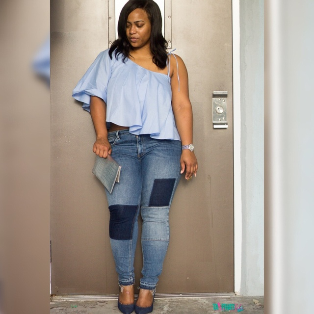 The Super Easy Way To Style An Asymmetrical Top