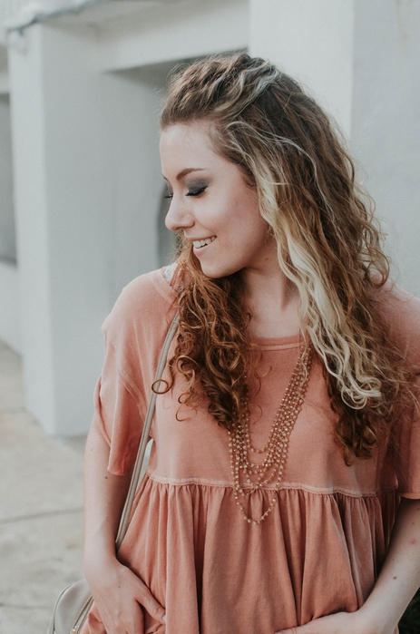Free People Blush Neutrals Look