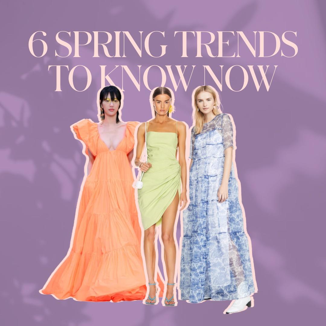 6 Spring Dress Trends