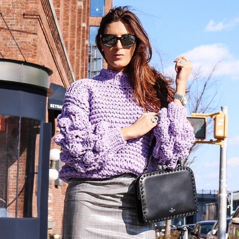 #ShopStyle #MyShopStyle #LooksChallenge #ContributingEditor #Winter #Lifestyle #TrendToWatch #tularosa #lavender #pop #streetstyle #ootd