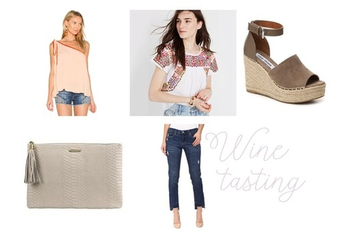 Perfect outfit for a spring night out