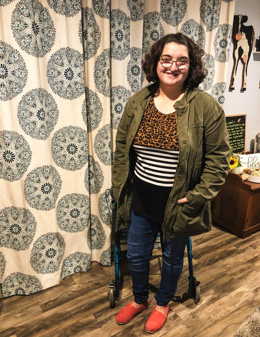 Look by Abby Hershberger featuring Old Navy Super Skinny Pull-On Jeggings for Women